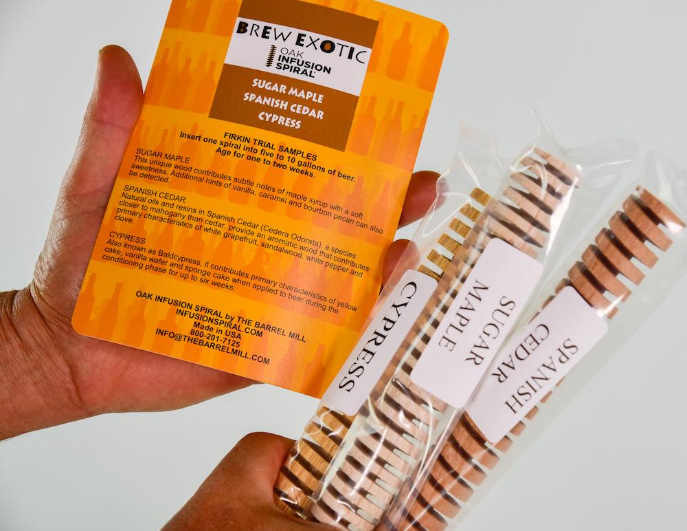 Exotic Wood Trial Pack