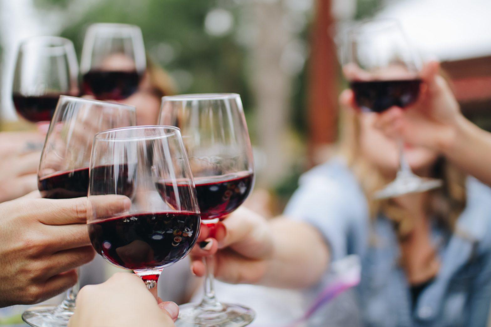 Wine Tasting Gathering Cheers