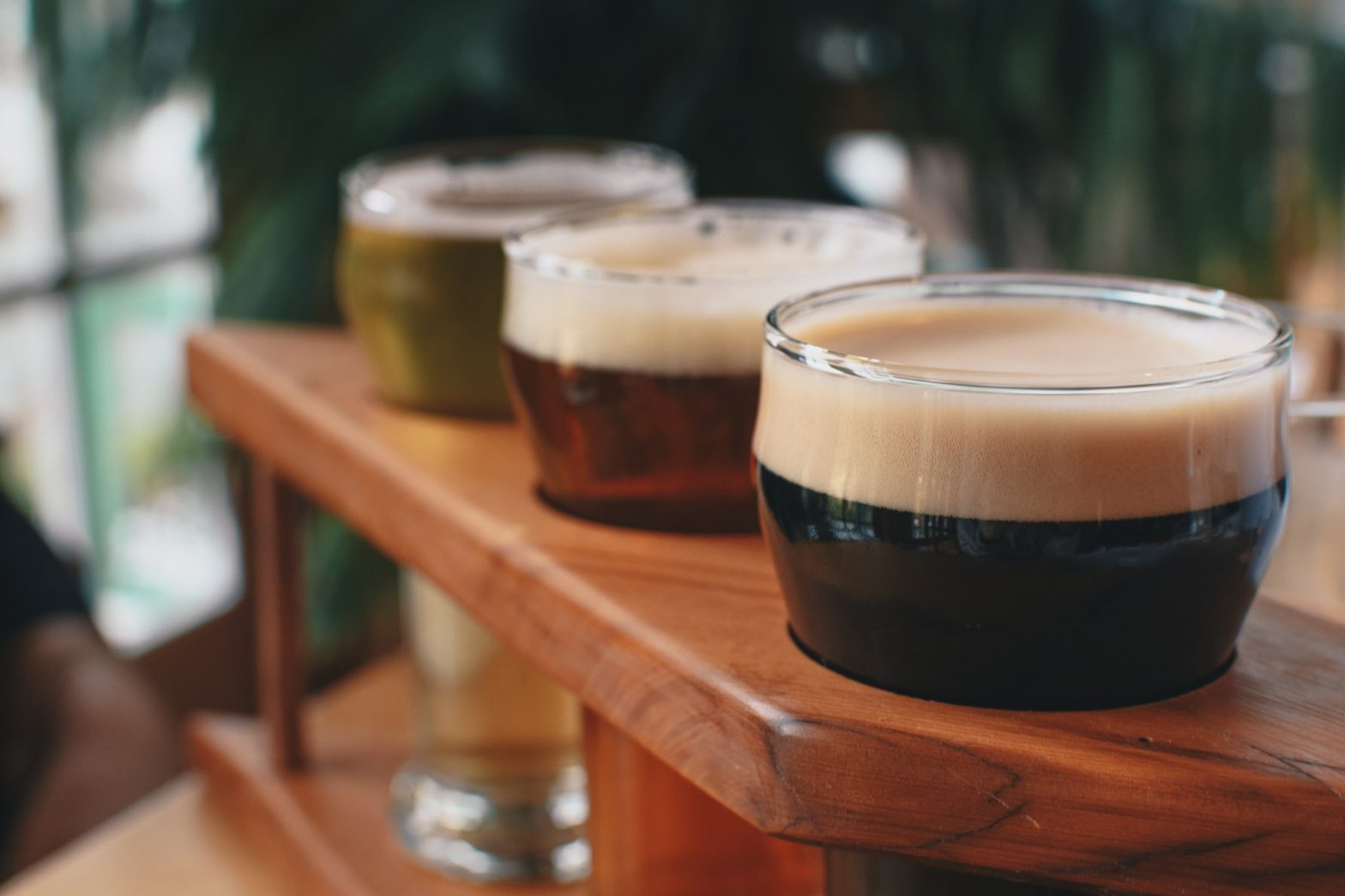 group of dark beers, porter and stout